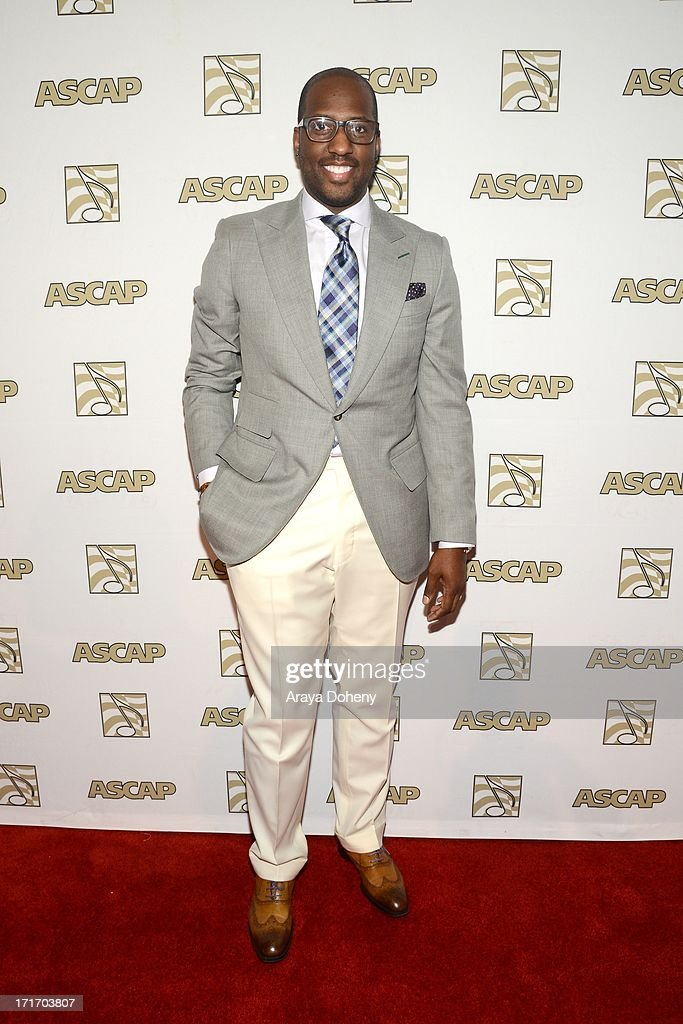 Isaac Carree attends The American Society of Composers, Authors and Publishers (ASCAP) 26th Annual Rhythm & Soul Music Awards at The Beverly Hilton Hotel on June 27, 2013 in Beverly Hills, California.