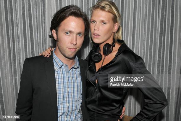 Isaac Flanagan and DJ Alexandra Richards attend ASSOCIATION to BENEFIT CHILDREN Junior Committee Fundraiser at Gansevoort Hotel on September 14 2010...