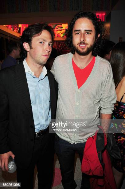 Isaac Flanagan and Zack Chodorow attend ASSOCIATION to BENEFIT CHILDREN hosts COCKTAILS IN CANDYLAND at Dylan's Candy Bar on June 18 2009 in New York...