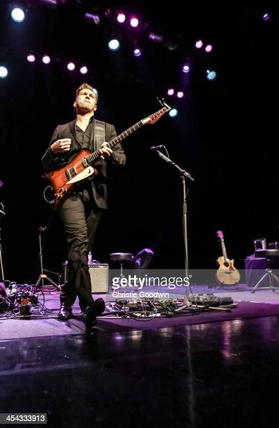 Isaac Hanson of Hanson performs on stage at Indigo2 at O2 Arena on December 8 2013 in London United Kingdom