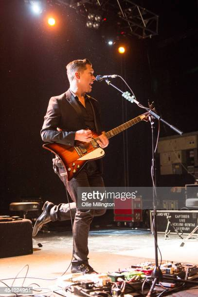 Isaac Hanson of Hanson performs on stage at The Institute on December 7 2013 in Birmingham United Kingdom