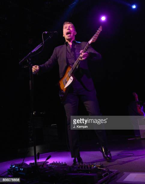 Isaac Hanson of the band Hanson performs at PlayStation Theater on September 30 2017 in New York City