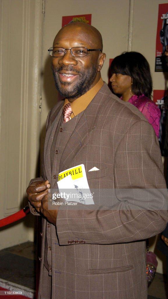 "The Broadway Opening of ""Julius Caesar"" starring Denzel Washington - April 3,"