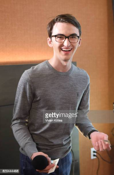 Isaac Hempstead Wright attends SiriusXM's Entertainment Weekly Radio Channel Broadcasts From Comic Con 2017 at Hard Rock Hotel San Diego on July 21...