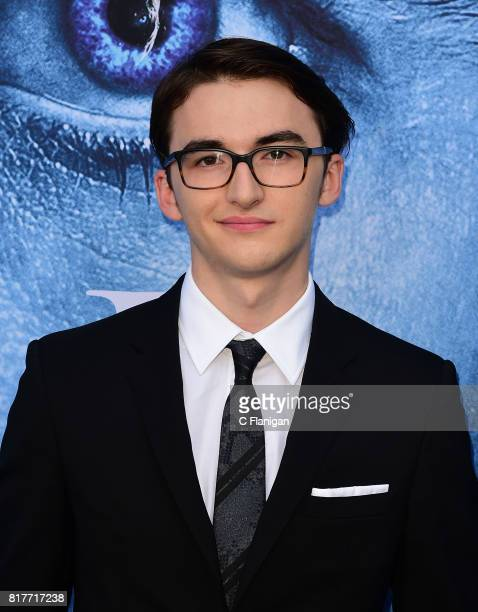 Isaac Hempstead Wright attends the Season 7 Premiere Of HBO's 'Game Of Thrones' at Walt Disney Concert Hall on July 12 2017 in Los Angeles California