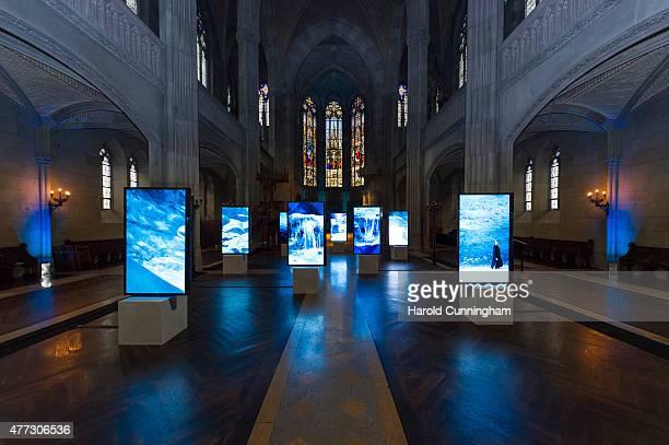Isaac Julien presents new work 'Stones Against Diamonds' as part of the RollsRoyce Art Programme during Art Basel on June 16 2015 in Basel Switzerland