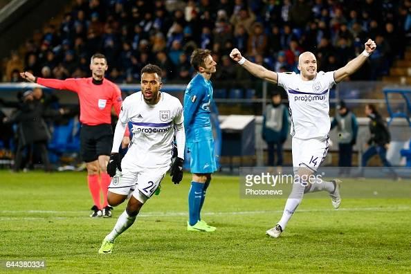 Zenit St. Petersburg v RSC Anderlecht - UEFA Europa League : News Photo