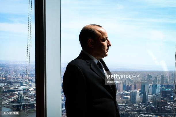 Isaac Lieberman CEO of Aston Capital Management LLC is photographed in New York US on Monday April 2017 Photographer Christopher Goodney/Bloomberg...