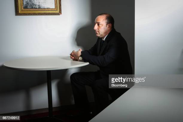 Isaac Lieberman founder and chief executive officer of Aston Capital Management LLC sits for a photograph in New York US on Monday April 2017 At a...