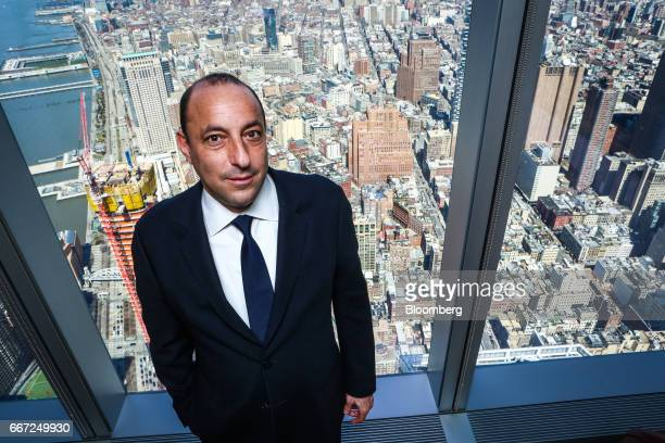 Isaac Lieberman founder and chief executive officer of Aston Capital Management LLC stands for a photograph in New York US on Monday April 2017 At a...