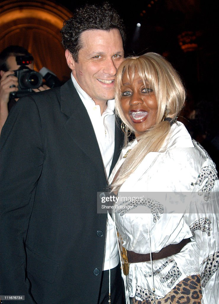Isaac Mizrahi and Janice Combs during Isaac Mizrahi High / Low Fall 2004 Fashion Show at Cipriani in New York City, New York, United States.