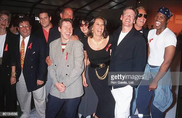 Isaac Mizrahi Oscar de la Renta Todd Oldham Anna Sui Donna Karan Calvin Klein Michael Kors and guests