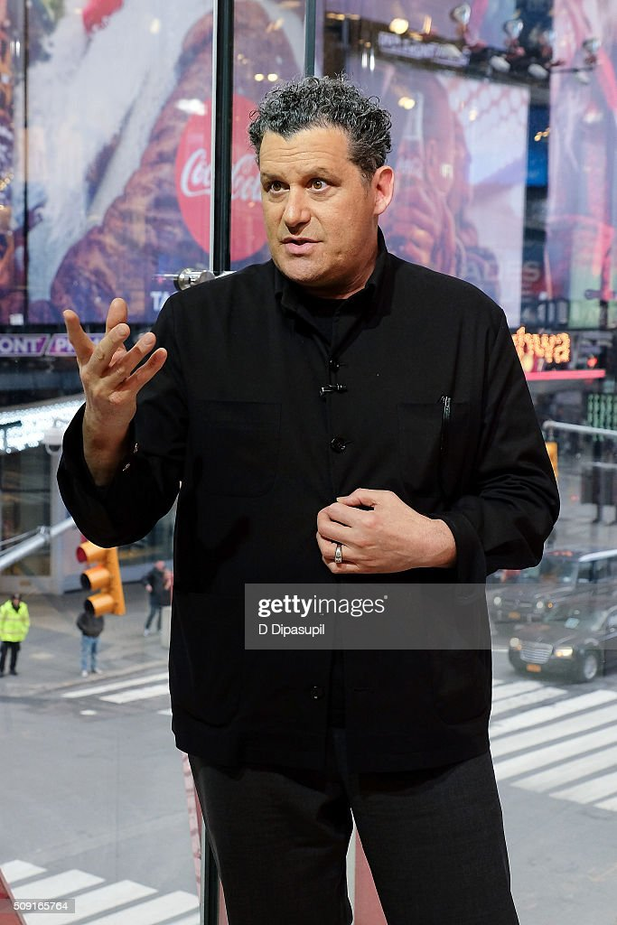 Isaac Mizrahi visits 'Extra' at their New York studios at H&M in Times Square on February 9, 2016 in New York City.