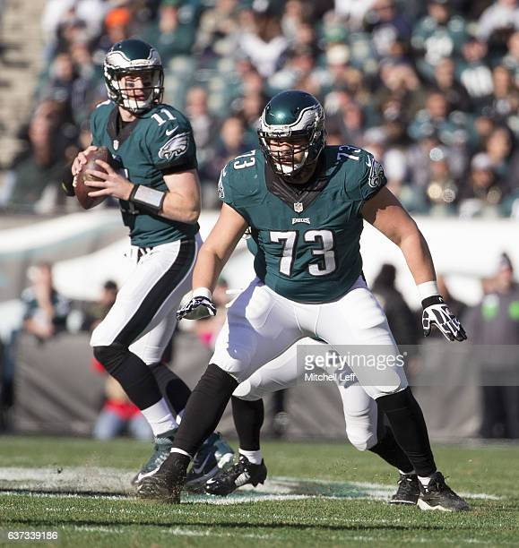 ad3376313 Colts NJ.com Isaac Seumalo of the Philadelphia Eagles blocks for Carson  Wentz against the Dallas Cowboys at Lincoln ...