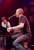 Isaac Slade and bassist Jimmy Stofer of The Fray
