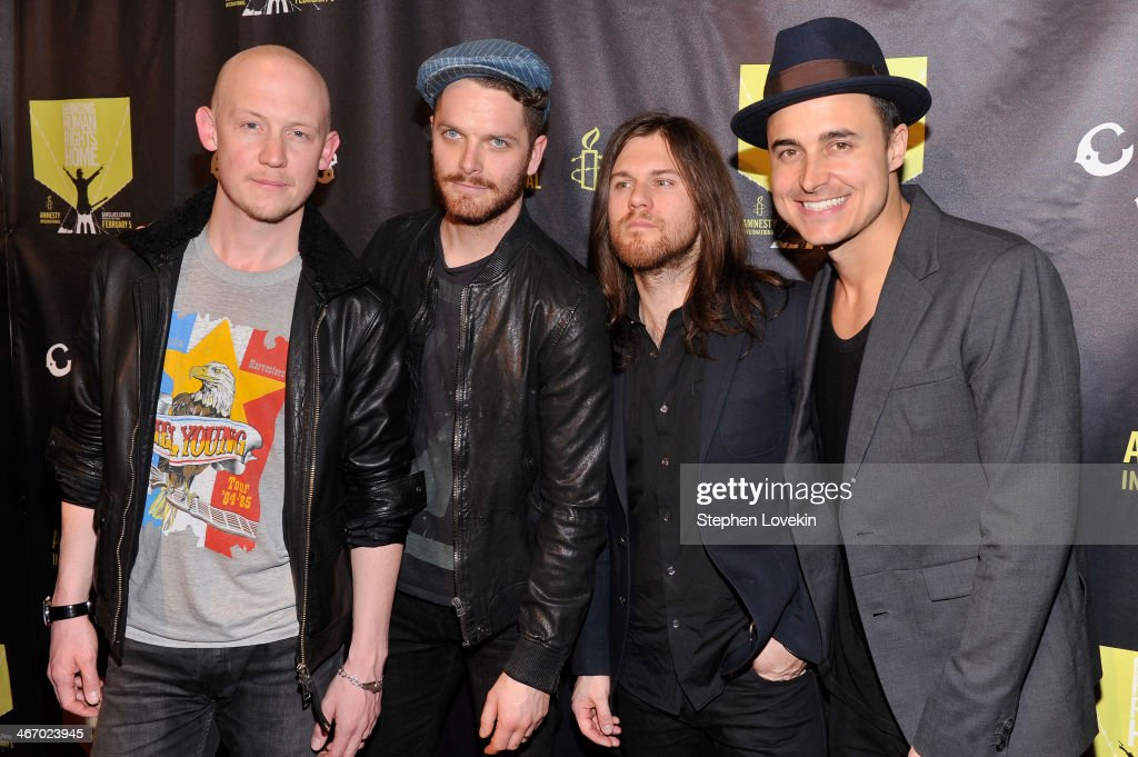 CBGB Festival Presents Amnesty International Concert At Barclay Center - Arrivals And Press Conference