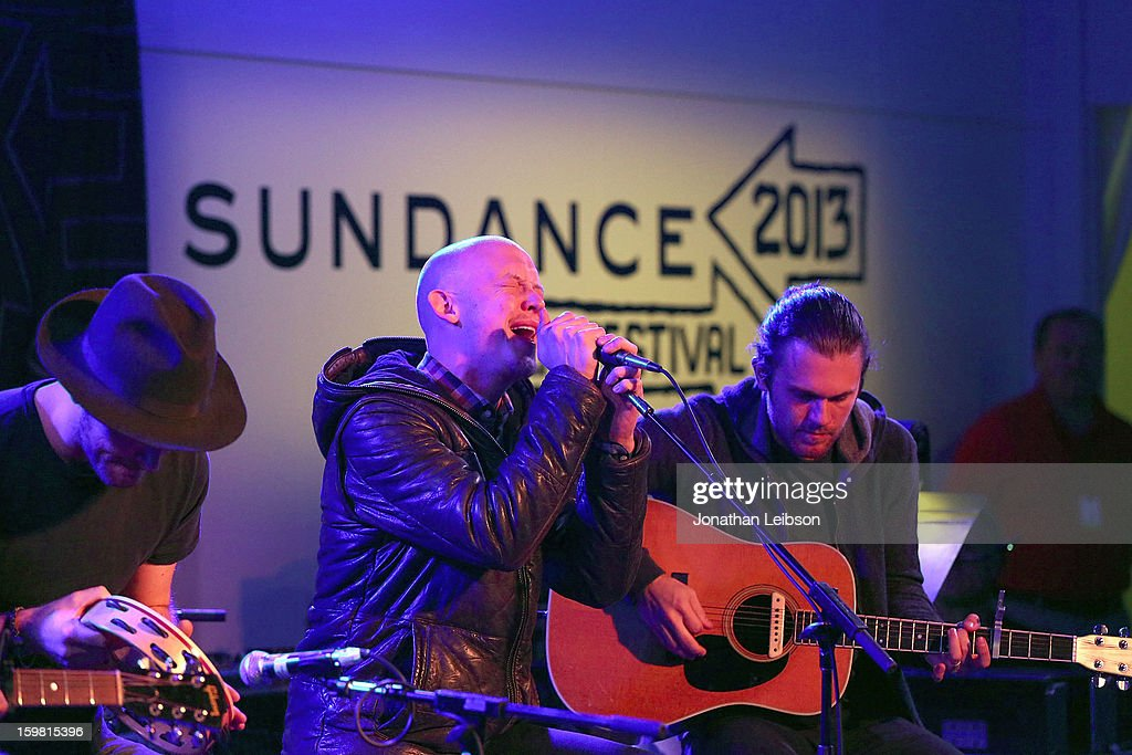 <a gi-track='captionPersonalityLinkClicked' href=/galleries/search?phrase=Isaac+Slade&family=editorial&specificpeople=537604 ng-click='$event.stopPropagation()'>Isaac Slade</a> of the band The Fray performs at the A Celebration Of Music And Film - 2013 Sundance Film Festival at Sundance House on January 20, 2013 in Park City, Utah.