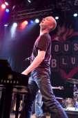 Isaac Slade of The Fray during Visa Signature Presents 'Signature Sounds Live on the Sunset Strip' with The Fray in Concert February 9 2007 at House...