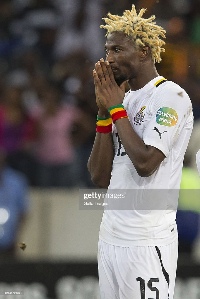 AFRICA - FEBRUARY 06, Isaac Vorsah from Ghana during penalty shoot out during the 2013 Orange African Cup of Nations 2nd Semi Final match between Burkina Faso and Ghana at Mbombela Stadium on February 06, 2013 in Nelspruit, South Africa.