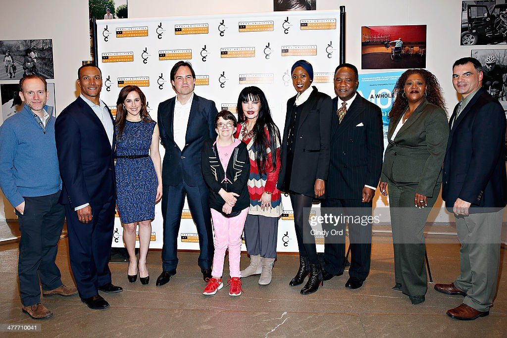 Isaac Zablocki, Mike Woods, Teresa Priolo, Victor Buhler, Wanda Huber, Loreen Arbus, Camilla Barungi , <a gi-track='captionPersonalityLinkClicked' href=/galleries/search?phrase=Isiah+Whitlock+Jr.&family=editorial&specificpeople=657646 ng-click='$event.stopPropagation()'>Isiah Whitlock Jr.</a>, Jacqueline Conley and John Sasso attend the 'A Whole Lott More' screening at JCC in Manhattan on March 10, 2014 in New York City.