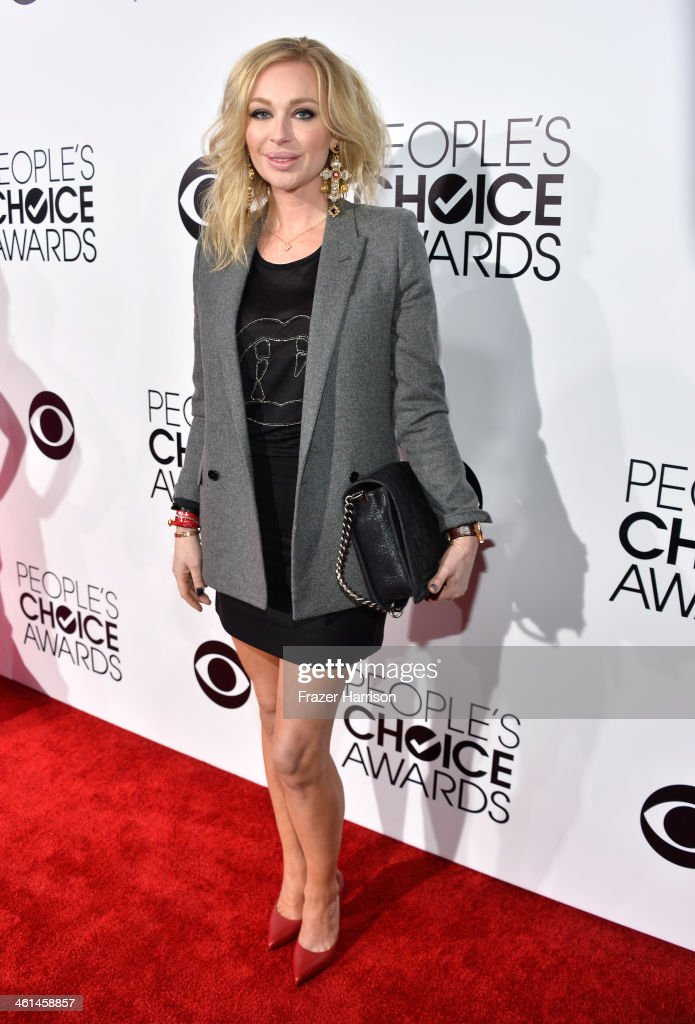 Isabel Adrian attends The 40th Annual People's Choice Awards at Nokia Theatre L.A. Live on January 8, 2014 in Los Angeles, California.