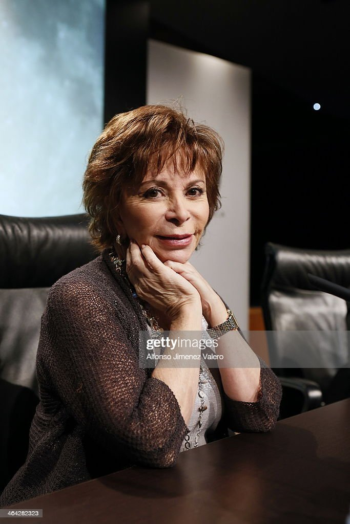 Isabel Allende presents her latest book 'El Juego De Ripper' at Casa de America in Madrid on January 21, 2014 in Madrid, Spain.