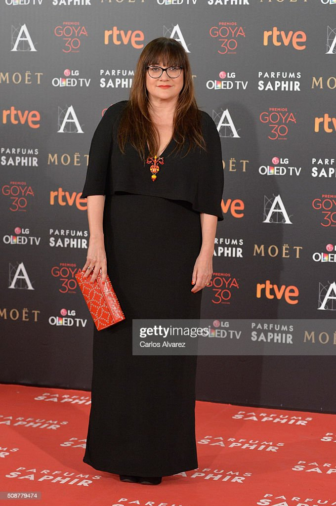 <a gi-track='captionPersonalityLinkClicked' href=/galleries/search?phrase=Isabel+Coixet&family=editorial&specificpeople=228930 ng-click='$event.stopPropagation()'>Isabel Coixet</a> attends Goya Cinema Awards 2016 at Madrid Marriott Auditorium on February 6, 2016 in Madrid, Spain.