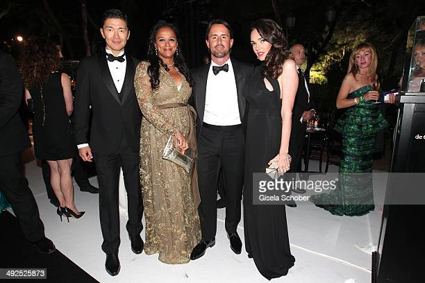 Isabel dos Santos Tamara Ecclestone and her husband Jay Rutland attend the Porsche At De Grisogono 'Fatale In Cannes' Party during the 67th Cannes...