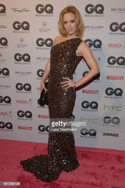 Isabel Edvardsson arrives at the GQ Men of the Year Award at Komische Oper on November 7 2013 in Berlin Germany