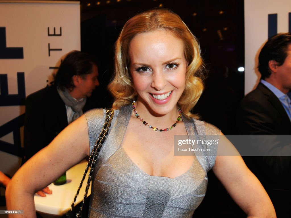 Isabel Edvardsson attends the Movie Meets Media Gala during the 63rd Berlinale International Film Festival at the Ritz Carlton Hotel on February 8, 2013 in Berlin, Germany.