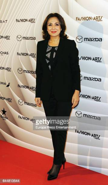 Isabel Gemio attend the 'Fashion arts' photocall at Reina Sofia museum on February 23 2017 in Madrid Spain