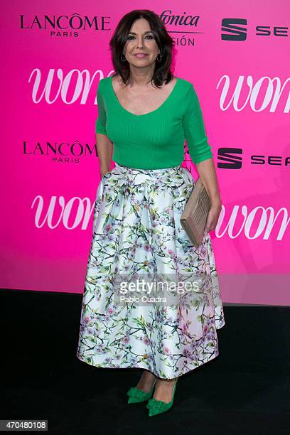 Isabel Gemio attends 'Woman Awards' at 'Casino de Madrid' on April 20 2015 in Madrid Spain