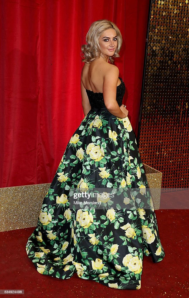 Isabel Hodgins attends the British Soap Awards 2016 at Hackney Empire on May 28, 2016 in London, England.