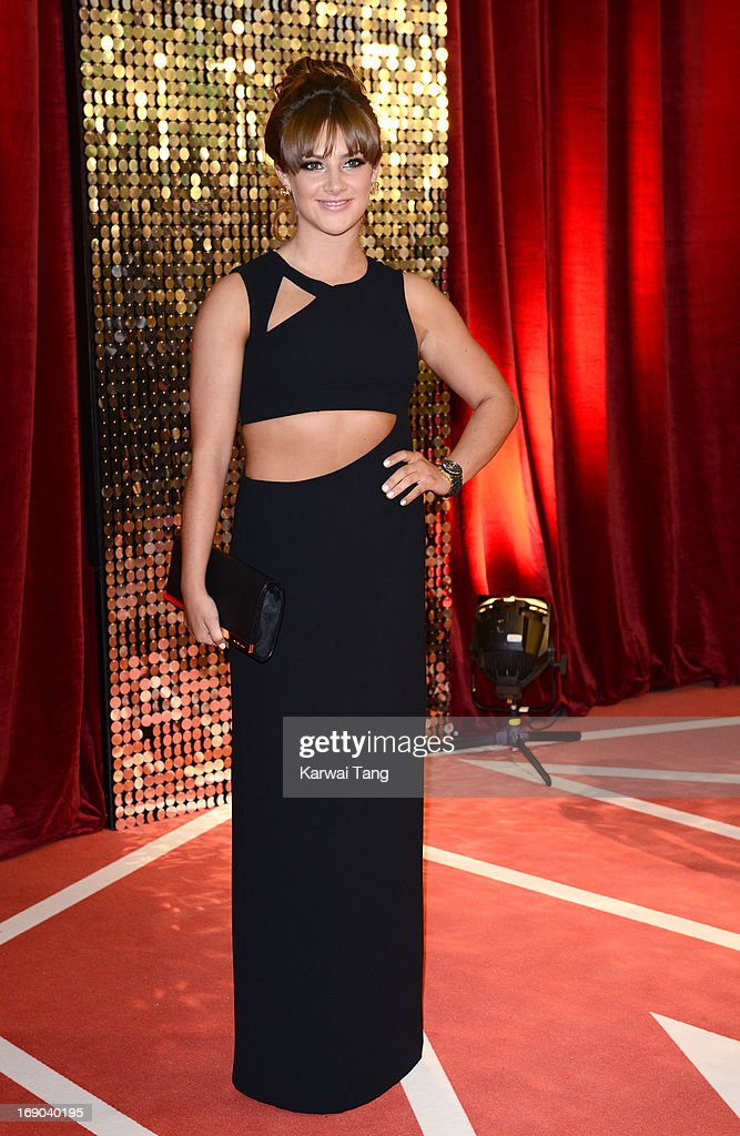 Isabel Hodgins attends the British Soap Awards at Media City on May 18, 2013 in Manchester, England.