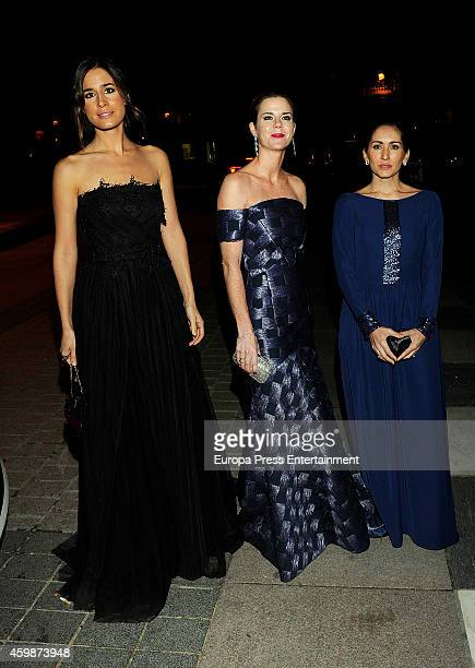 Isabel Jimenez Amelia Bono and Alejandra Martos attend 'Telva Special Cooperation Award' during the 'Telva Beauty' 2014 awards on December 2 2014 in...