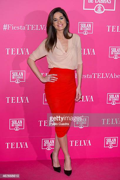 Isabel Jimenez attends Telva Beauty Awards at Palace hotel on February 2 2015 in Madrid Spain