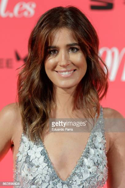 Isabel Jimenez attends the 'Woman 25th anniversary' photocall at Madrid Casino on October 18 2017 in Madrid Spain
