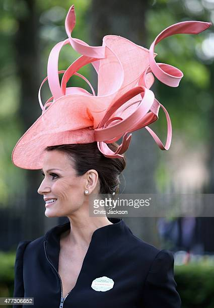 Isabel Kristensen arrives for day 1 of Royal Ascot at Ascot Racecourse on June 16 2015 in Ascot England