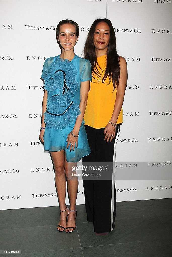 <a gi-track='captionPersonalityLinkClicked' href=/galleries/search?phrase=Isabel+Lucas&family=editorial&specificpeople=242957 ng-click='$event.stopPropagation()'>Isabel Lucas</a> and Maggie Betts attend the 'Engram' screening at the Celeste Bartos Theater at the Museum of Modern Art on March 31, 2014 in New York City.