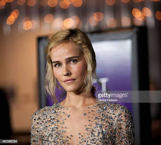 Isabel Lucas attends the screening of Open Road Films' 'The Loft' at the Directors Guild of America on January 27 2015 in Los Angeles California
