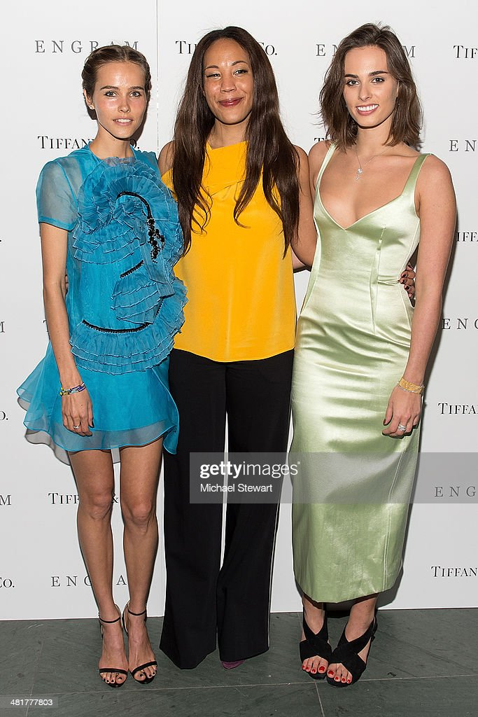 <a gi-track='captionPersonalityLinkClicked' href=/galleries/search?phrase=Isabel+Lucas&family=editorial&specificpeople=242957 ng-click='$event.stopPropagation()'>Isabel Lucas</a>, Maggie Betts and Sophie Auster attend the 'Engram' screening at the Celeste Bartos Theater at the Museum of Modern Art on March 31, 2014 in New York City.