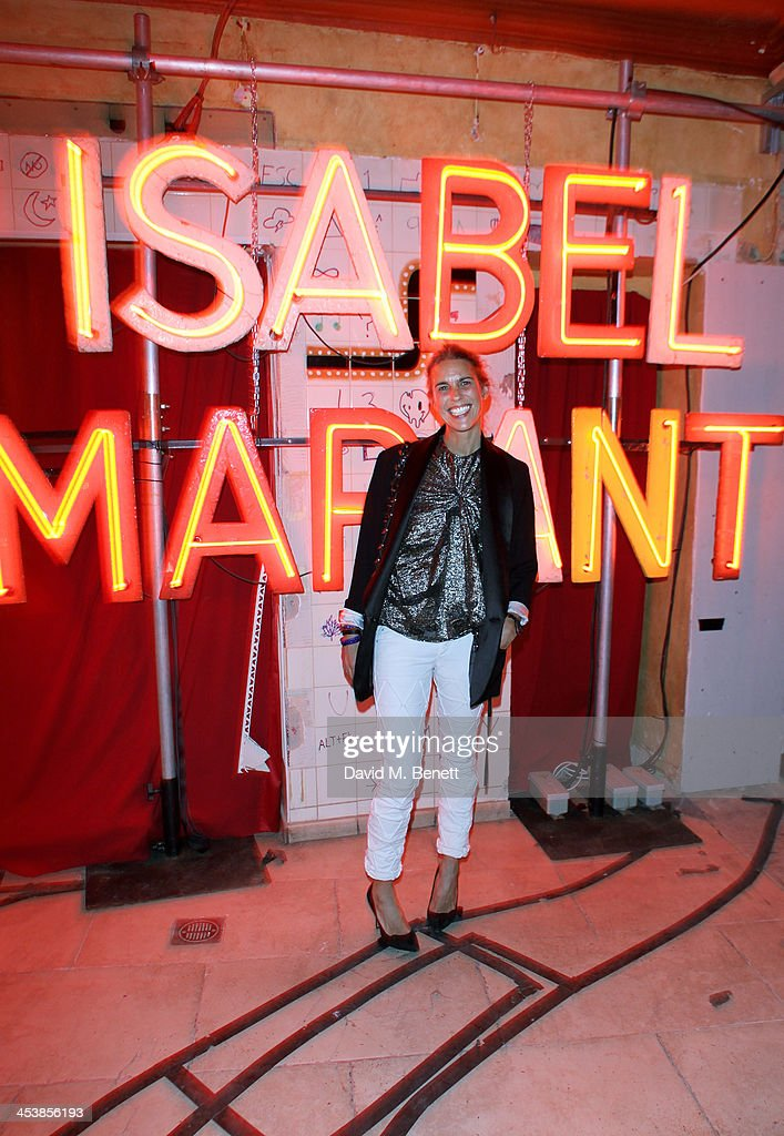 Isabel Marant attends the Isabel Marant London dinner and party on December 5, 2013 in London, United Kingdom.