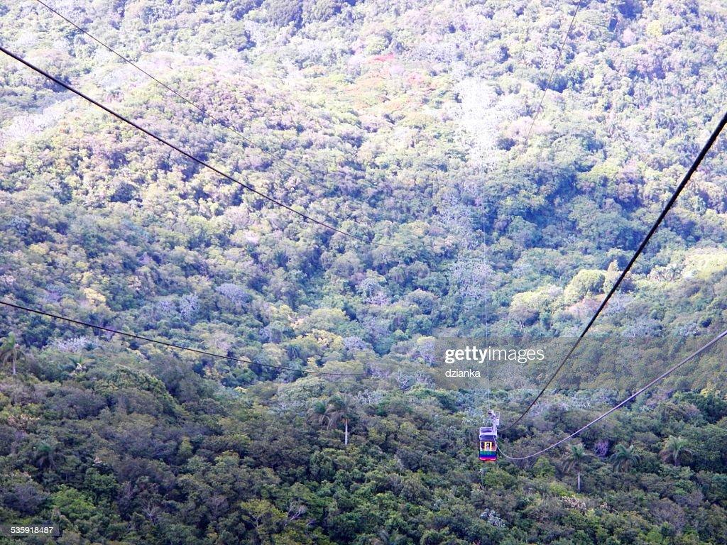 isabel de torres cableway : Stock Photo