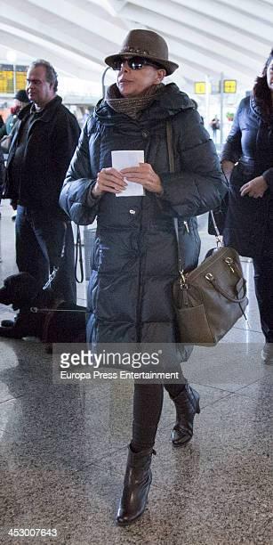 Isabel Pantoja is seen on December 1 2013 in Bilbao Spain