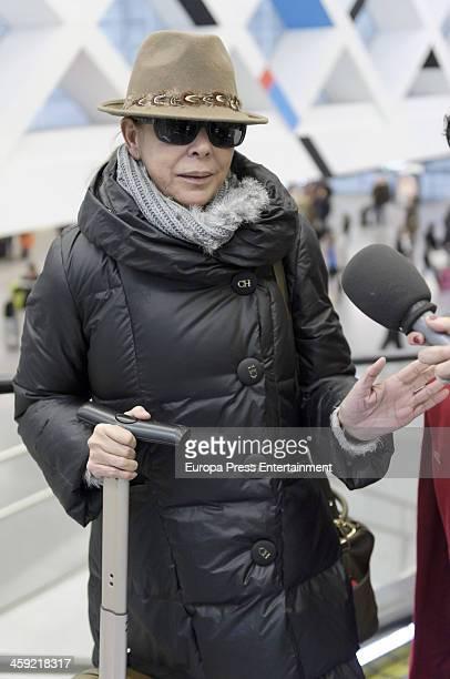 Isabel Pantoja is seen on December 13 2013 in Madrid Spain