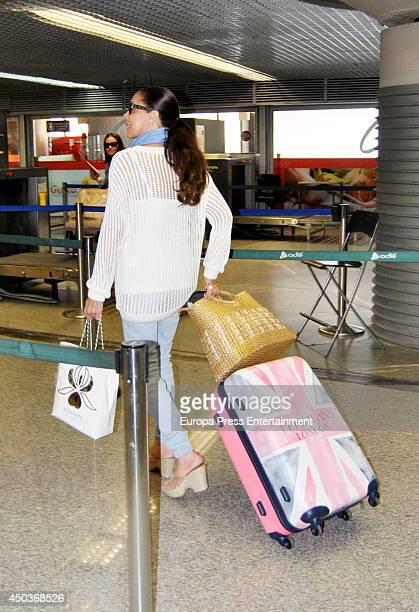 Isabel Pantoja is seen on June 9 2014 in Madrid Spain