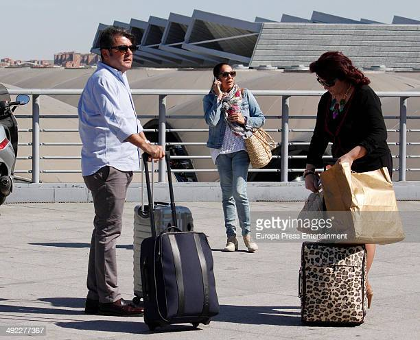 Isabel Pantoja is seen on May 16 2014 in Seville Spain