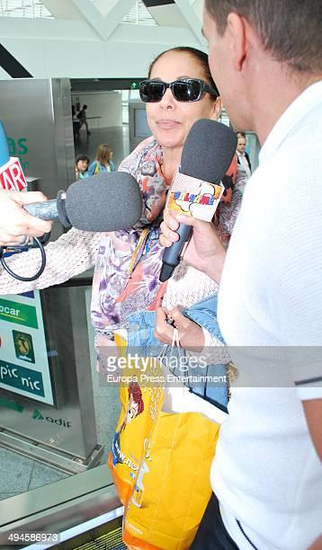 Isabel Pantoja is seen on May 29 2014 in Sevilla Spain