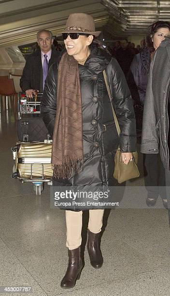 Isabel Pantoja is seen on November 29 2013 in Bilbao Spain
