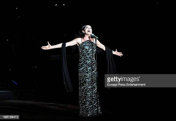 Isabel Pantoja performs on stage on May 5 2013 in Benidorm Spain